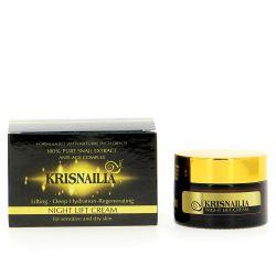 Лифтинг нощен крем с екстракт от охлюви Krisnailia 30мл