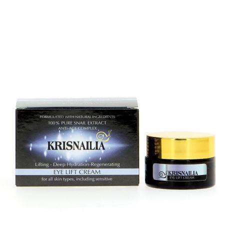 Лифтинг околоочен крем с екстракт от охлюви Krisnailia 15мл