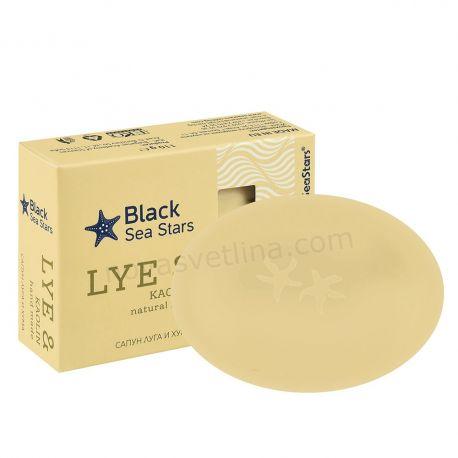 Ръчен сапун с черноморска луга и хума - 110гр