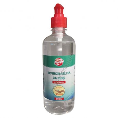 Дезинфектант за ръце - почистващ гел без отмиване 500мл