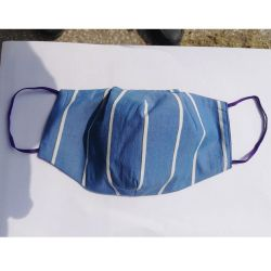 Предпазна памучна маска за многократна употреба 1бр. различни цветове