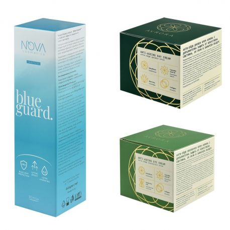 AVRORA + Blue Guard - Супер мощна комбинация за намаляване на бръчките и защита от изкуствена светлина и замърсяване