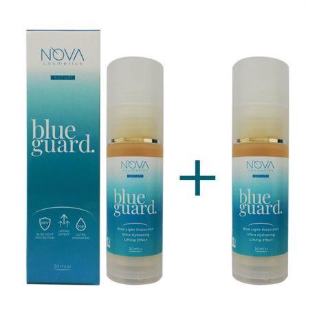 2 x Лифтинг серум с биомиметичен пептид и гуарана и защита от синя светлина BLUE GUARD - 30мл
