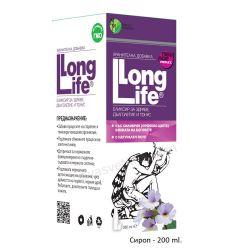 LONG LIFE билков еликсир за здраве, дълголетие и тонус - сироп 200мл Мирта Медикус