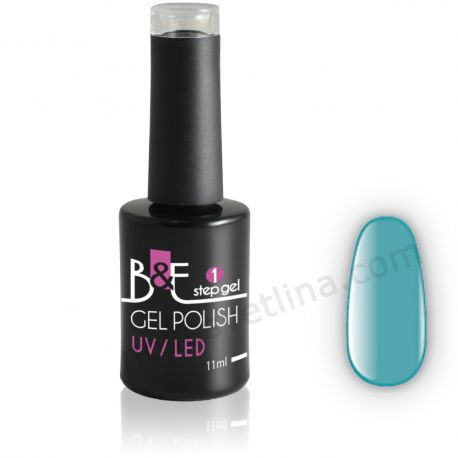 Български гел лак N13 в една стъпка(UV/LED) - B&E