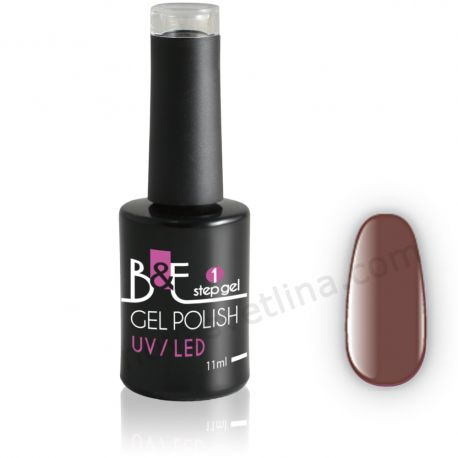 Български гел лак N33 в една стъпка(UV/LED) - B&E