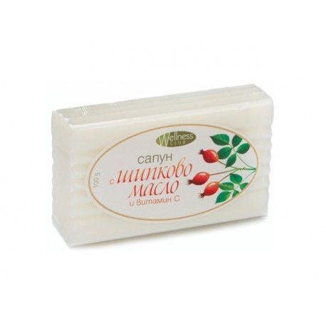 Сапун с шипково масло и витамин С - 100гр