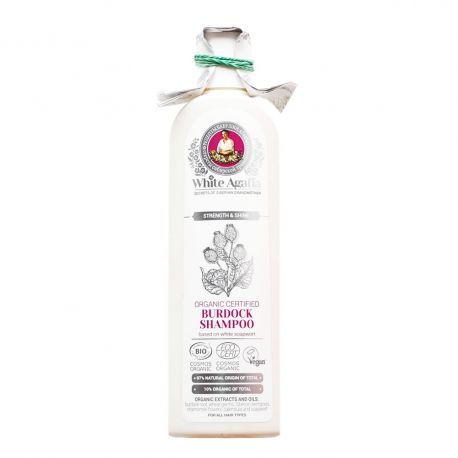 White Agafia органичен шампоан Репей - 280мл